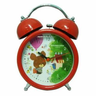くまのがっこう 目覚まし時計