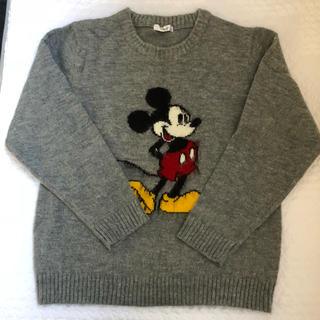 ディズニー(Disney)のミッキーニット セーター(ニット/セーター)