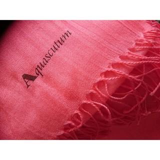 アクアスキュータム(AQUA SCUTUM)の新品未使用◆Aquascutum/アクアスキュータム ストール シルク・カシミヤ(ストール/パシュミナ)