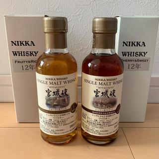 ニッカウイスキー(ニッカウヰスキー)のニッカ宮城峡12年。フルーティ&リッチ シェリー&スイート(ウイスキー)