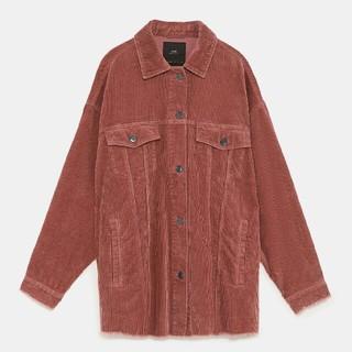 ザラ(ZARA)のZARA 18-19AW 完売新品 カラー!コーデュロイジャケット(Tシャツ(長袖/七分))