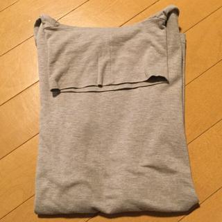 ムジルシリョウヒン(MUJI (無印良品))の無印 ぬくもりインナー タートルネックTシャツ  ベージュ M(アンダーシャツ/防寒インナー)