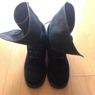 クリスヴァンアッシュ(KRIS VAN ASSCHE)のクリスヴァンアッシュ スエードブーツ 41サイズ(ブーツ)