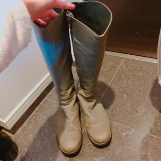 カンペール(CAMPER)のカンペール ブーツ グレー 23.5cm(ブーツ)