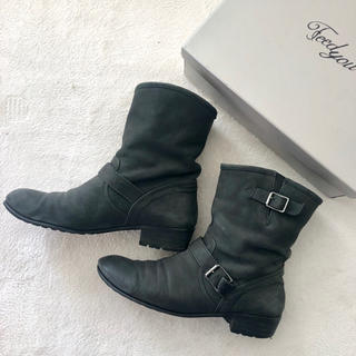 オデットエオディール(Odette e Odile)のユナイテッドアローズ エンジニアブーツ 春ブーツ ショートブーツ 古靴ビンテージ(ブーツ)