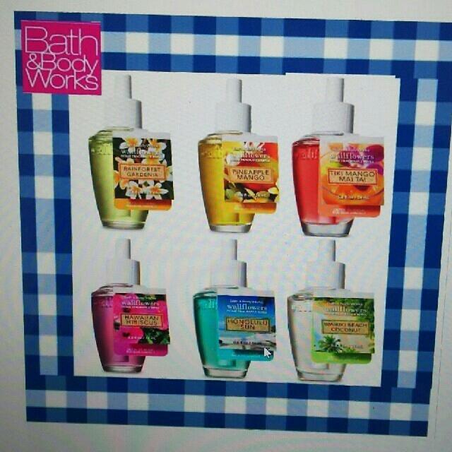 Bath & Body Works(バスアンドボディーワークス)の3本セット バスアンドボディワークス ウォールフラワー リフィル コスメ/美容のリラクゼーション(アロマオイル)の商品写真