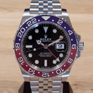 ロレックス(ROLEX)のaachan様の 未使用 ロレックス GMTマスター2 ペプシ ジュビリーブレス(腕時計(アナログ))