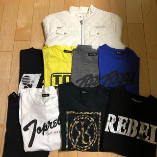 サーティンジャパン(THIRTEEN JAPAN)のtop rebel まとめ売り メンズ S M 中古 バラ売り不可 Rebel (シャツ)