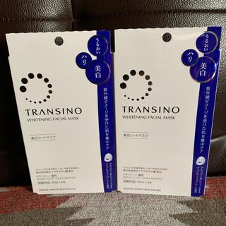トランシーノ(TRANSINO)のTRANSINO 美白シートマスク(パック / フェイスマスク)