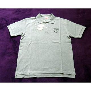 バズリクソンズ(Buzz Rickson's)のBuzz Rickson's  POLO SHIRT ポロシャツ グレー(ポロシャツ)
