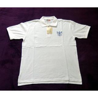 バズリクソンズ(Buzz Rickson's)のバズリクソンズBR74943 ホワイトサイズL(ポロシャツ)