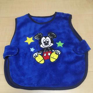 ディズニー(Disney)の美品 ベビーキッズ チャンチャンコ 青ディズニーミッキーマウス 80〜90サイズ(パジャマ)