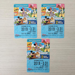 ディズニー(Disney)のディズニーリゾートライン 【2DAY】 フリーきっぷ(その他)