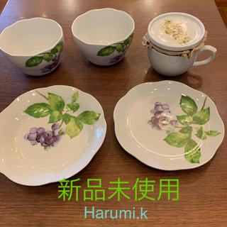 クリハラハルミ(栗原はるみ)の栗原はるみ 未使用食器5点セット Harumi.k (食器)