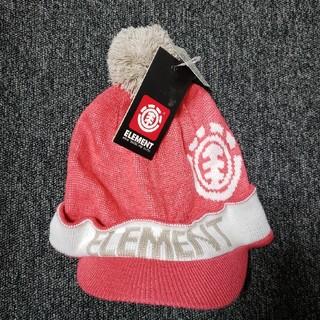 エレメント(ELEMENT)の☆新品・未使用品☆ELEMENT エレメント キッズ帽子 ニット帽(帽子)