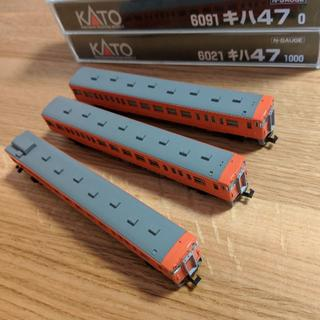 カトー(KATO`)のご購入済み KATO キハ47 3両 動力1両つき(鉄道模型)