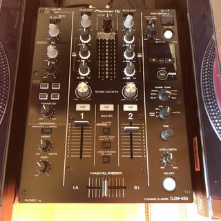 パイオニア(Pioneer)のdjm-450 超美品(DJミキサー)