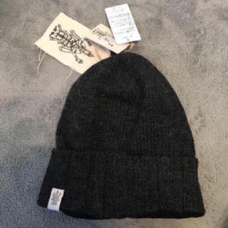 ゴールドウィン(GOLDWIN)の半値以下✩裏フリース素材で暖かニット帽★GOLD WIN (ニット帽/ビーニー)