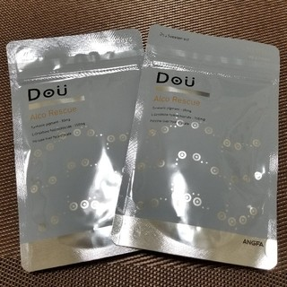 アンファー(ANGFA)のDou アルコレスキュー(30日分)90粒×2袋(その他)