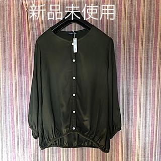 新品未使用☆カーキシャツ