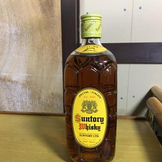 ニッカウイスキー(ニッカウヰスキー)のサントリー 角瓶 720  30年前製造 古酒(ウイスキー)