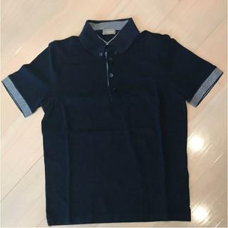 クルチアーニ(Cruciani)のcruciani クルチアーニ ボタンダウン ポロシャツ ネイビー 50  (ポロシャツ)