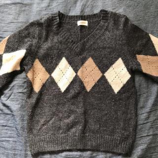 サブロク(SABUROKU)のサブロク アーガイル 薄手ニット(ニット/セーター)