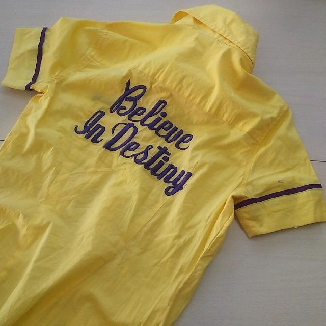SLY(スライ)のSLY🖤ボウリングシャツ/M 安室奈美恵 レディースのトップス(シャツ/ブラウス(半袖/袖なし))の商品写真