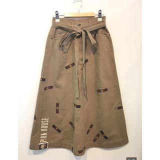 インゲボルグ(INGEBORG)のmimiko_0205(55)様専用 ピンクハウス クマワッペン スカート(ロングスカート)