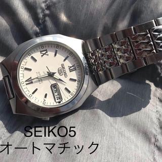セイコー(SEIKO)のピンク様専用/SEIKO5 オートマチック 裏蓋 スケルトン(skeleton)(腕時計(アナログ))