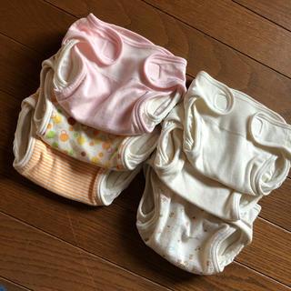 布おむつカバー サイズ50 6枚セット(ベビーおむつカバー)