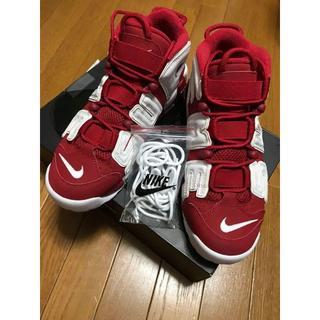 Supreme/Nike Air more uptempo 28cm