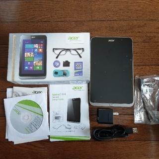 エイサー(Acer)のacer windowsタブレットW4-820 ケース付き(タブレット)