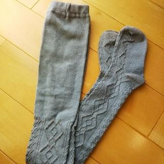 ベルメゾン(ベルメゾン)の千趣会 タイツ グレー 105センチ(靴下/タイツ)