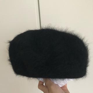 カシラ(CA4LA)のモヘヤベレー帽(ハンチング/ベレー帽)