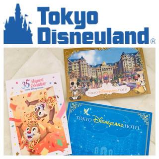 ディズニー(Disney)のディズニーランドホテル ポストカード3枚セット(印刷物)