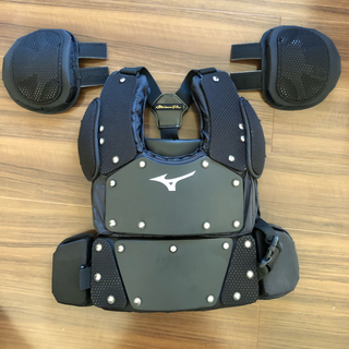 ミズノ(MIZUNO)のミズノプロ 野球 審判プロテクター 硬式 軟式 ソフトボール用(防具)