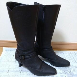 エレガンスヒミコ(elegance卑弥呼)のブーツ 21.5 cm 黒 elegance卑弥呼(ブーツ)