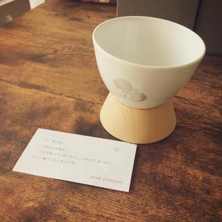 ミナペルホネン(mina perhonen)のミナペルホネン湯のみ 二個セット(グラス/カップ)