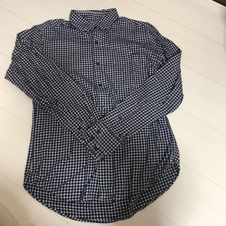 GU - チェックシャツ シャツ