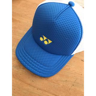 ヨネックス(YONEX)のヨネックスキャップ ブルー 新品(テニス)
