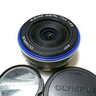 オリンパス(OLYMPUS)のOLYMPUS PEN PL 単焦点 17mm(レンズ(単焦点))