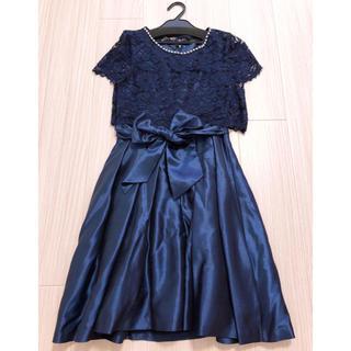エメ(AIMER)の美品ドリードール Dorry doll 二次会ドレス(ミディアムドレス)