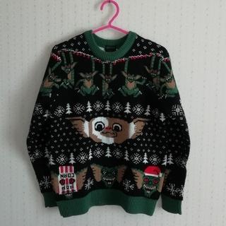 オーバーザストライプス(OVER THE STRIPES)の輸入アグリークリスマスセーターグレムリン(ニット/セーター)