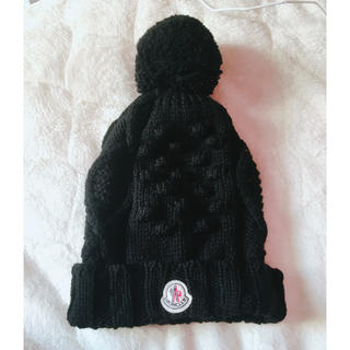 モンクレール(MONCLER)の正規品モンクレールニット帽ユニセックス(ニット帽/ビーニー)