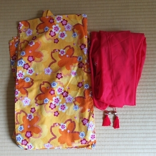 浴衣(115~125センチ)(甚平/浴衣)