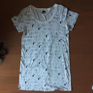 イルツ(ylts)の[ylts]ロング丈ティーシャツ(Tシャツ(半袖/袖なし))