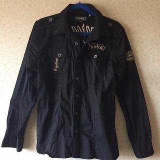 ノートン(Norton)のNorton 黒ジャケット 原価18000円程度 (ダウンジャケット)