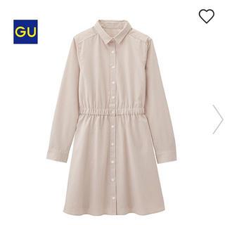 GU - 【新品】GU ストライプシャツワンピ ユニクロ スナイデル ミッシュマッシュ