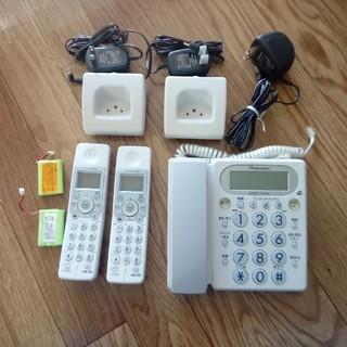 パイオニア(Pioneer)のPioneerコードレス電話機(本体+子機2台)(その他 )